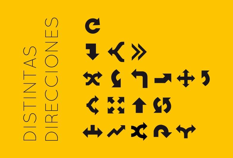 Ilustración distintas direcciones © moversinmover. Galería de arte
