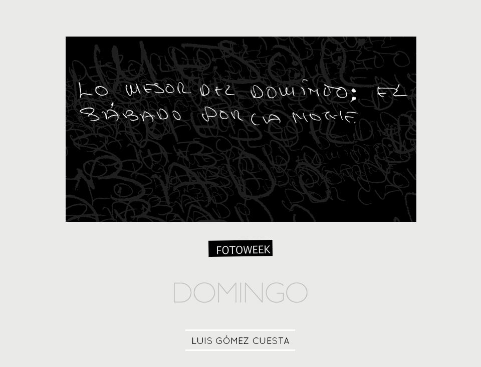 Fotoweek - Domingo : Luis Gómez Cuesta © moversinmover