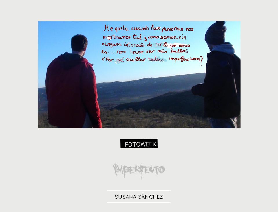 Fotoweek - Imperfecto : Susana Sánchez © moversinmover