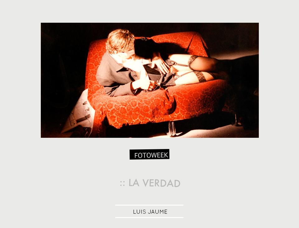 Fotoweek - La verdad : Luis Jaume © moversinmover