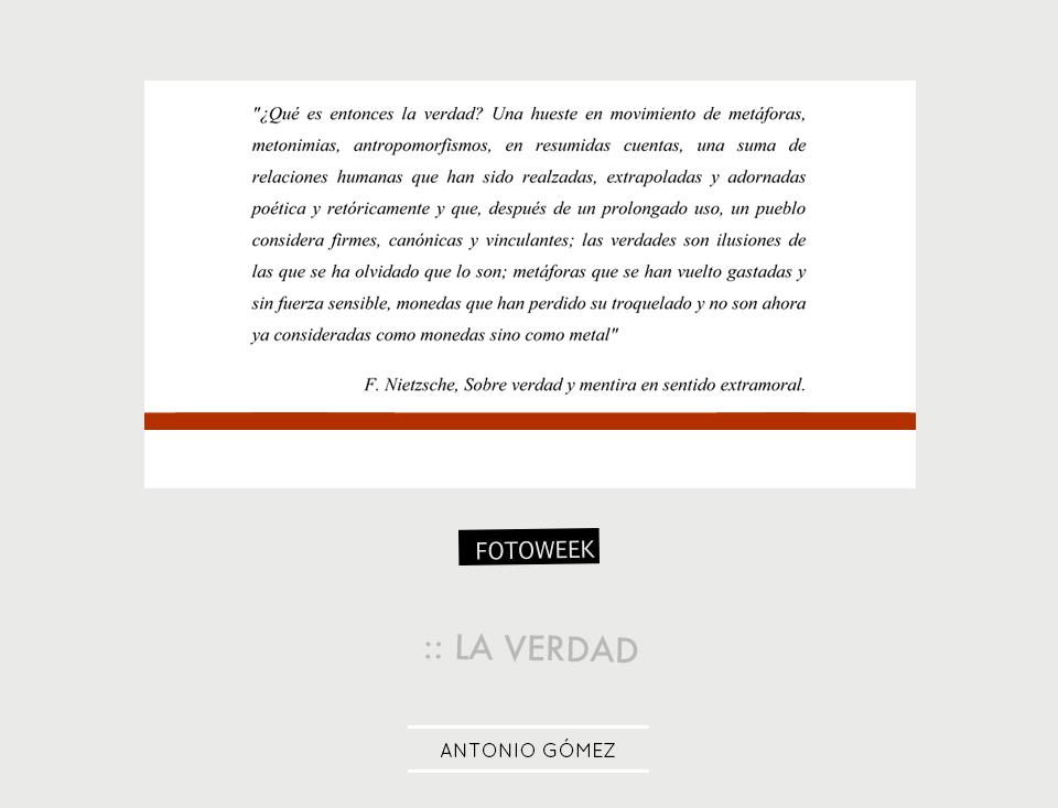 Fotoweek - La verdad : Antonio Gómez © moversinmover