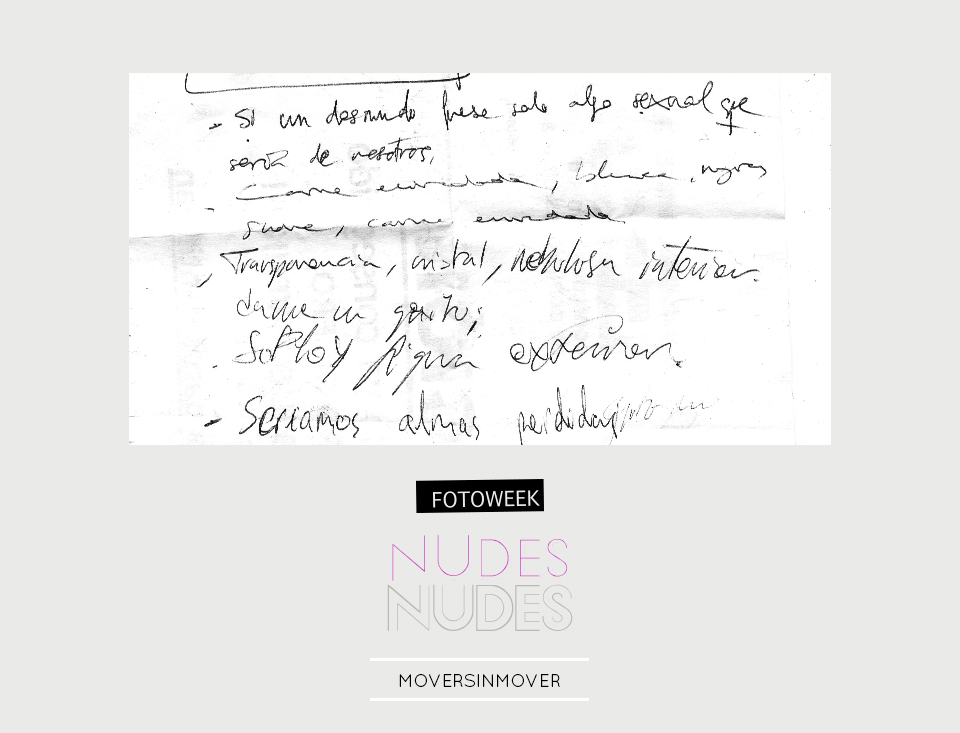 Fotoweek - Nudes : moversinmover © moversinmover