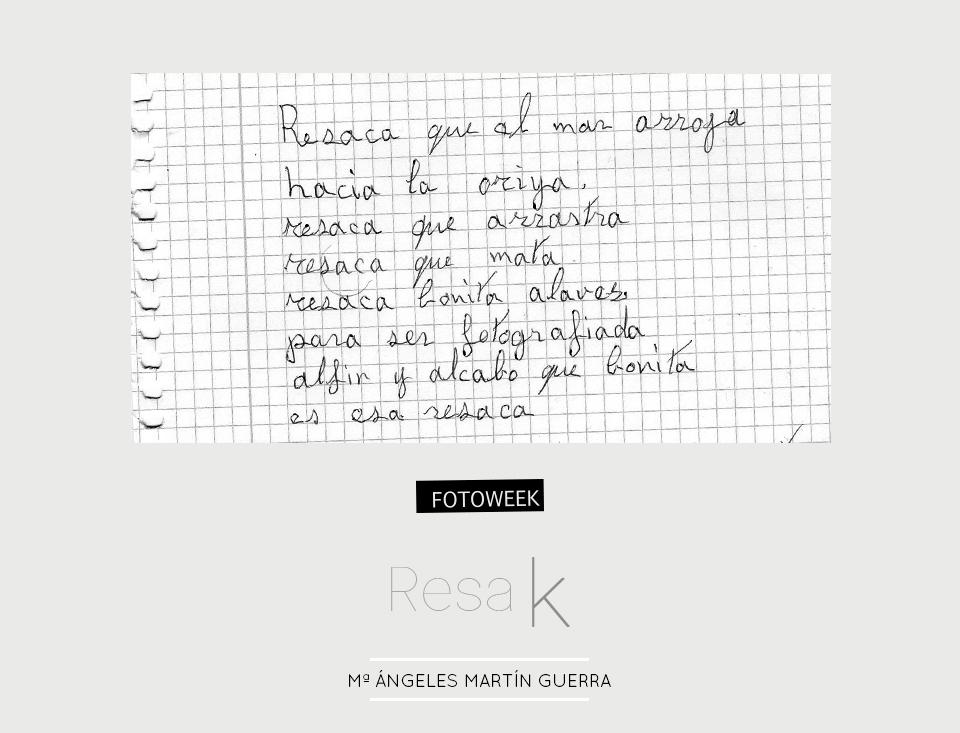 Fotoweek - Resak : Mª Ángeles Martín Guerra © moversinmover