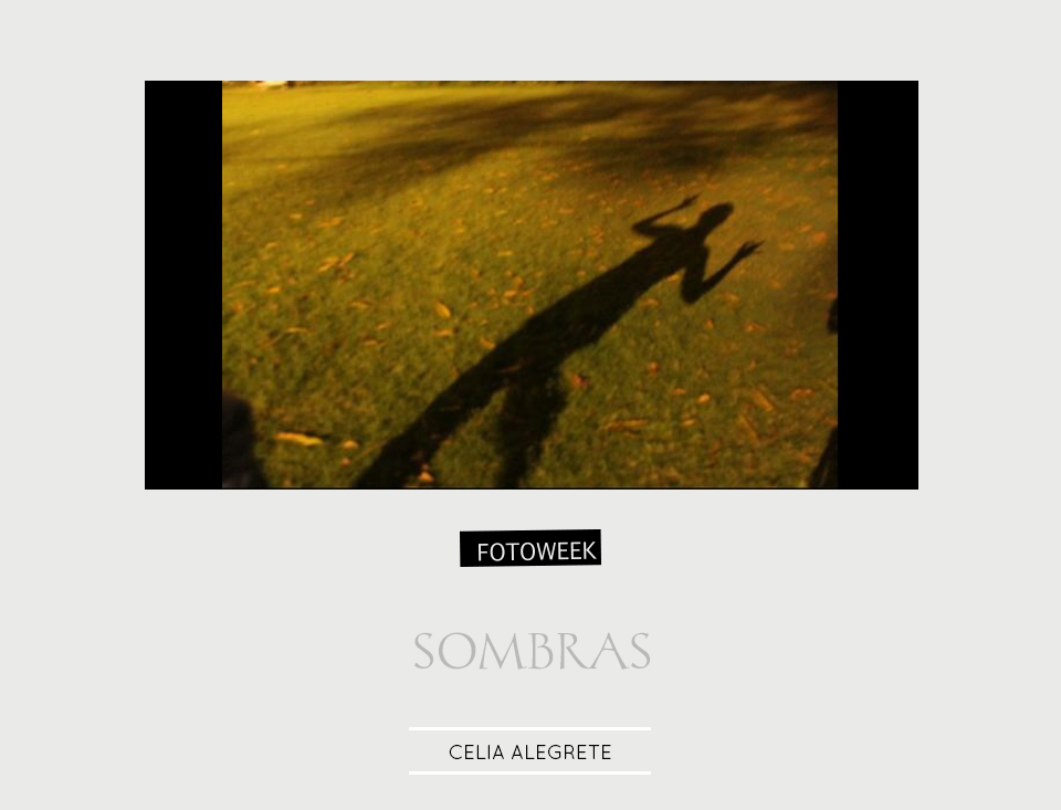 Fotoweek - Sombras : Celia Alegrete © moversinmover