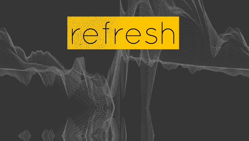 refresh: Estamos de estreno © moversinmover. Arte actual